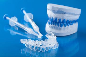 Dental tools used for professional teeth whitening in Aston PA