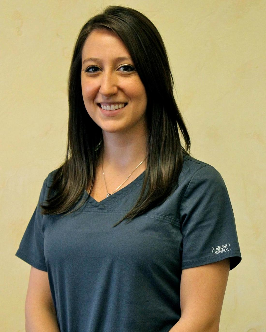 Headshot of Brittany Stagg a dental hygienist at 19014 dental office