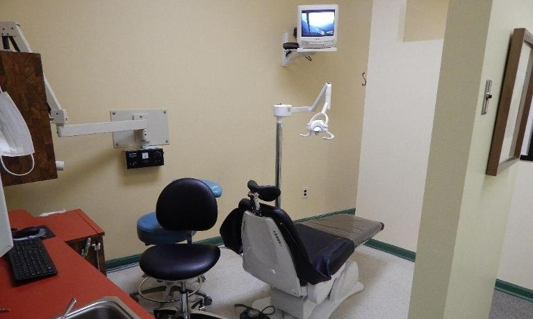 Treatment chair and technology at dentist office in Aston PA
