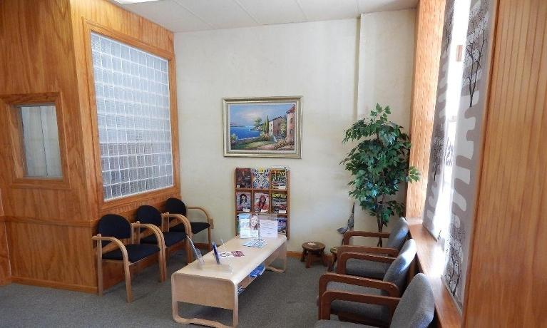 Patient waiting area at The Dental Health Center in Aston PA